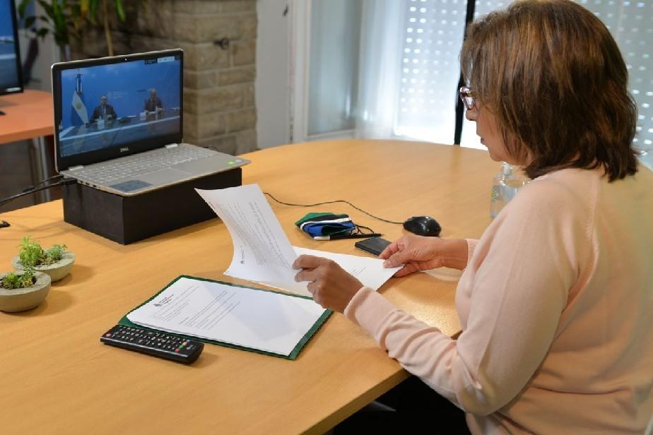 Presentan nueva línea de financiamiento para pymes rionegrinas
