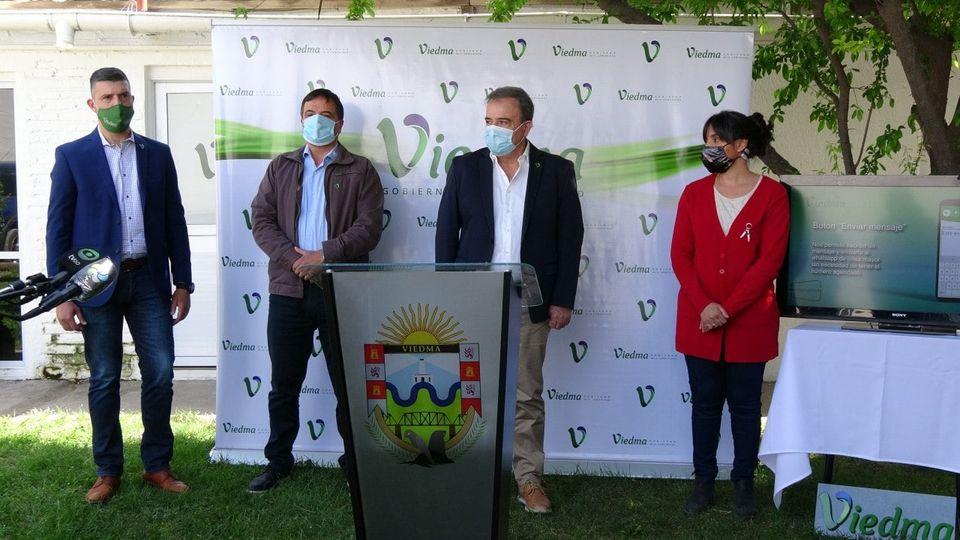 El Municipio de Viedma presentó una aplicación para asistir a adultos mayores