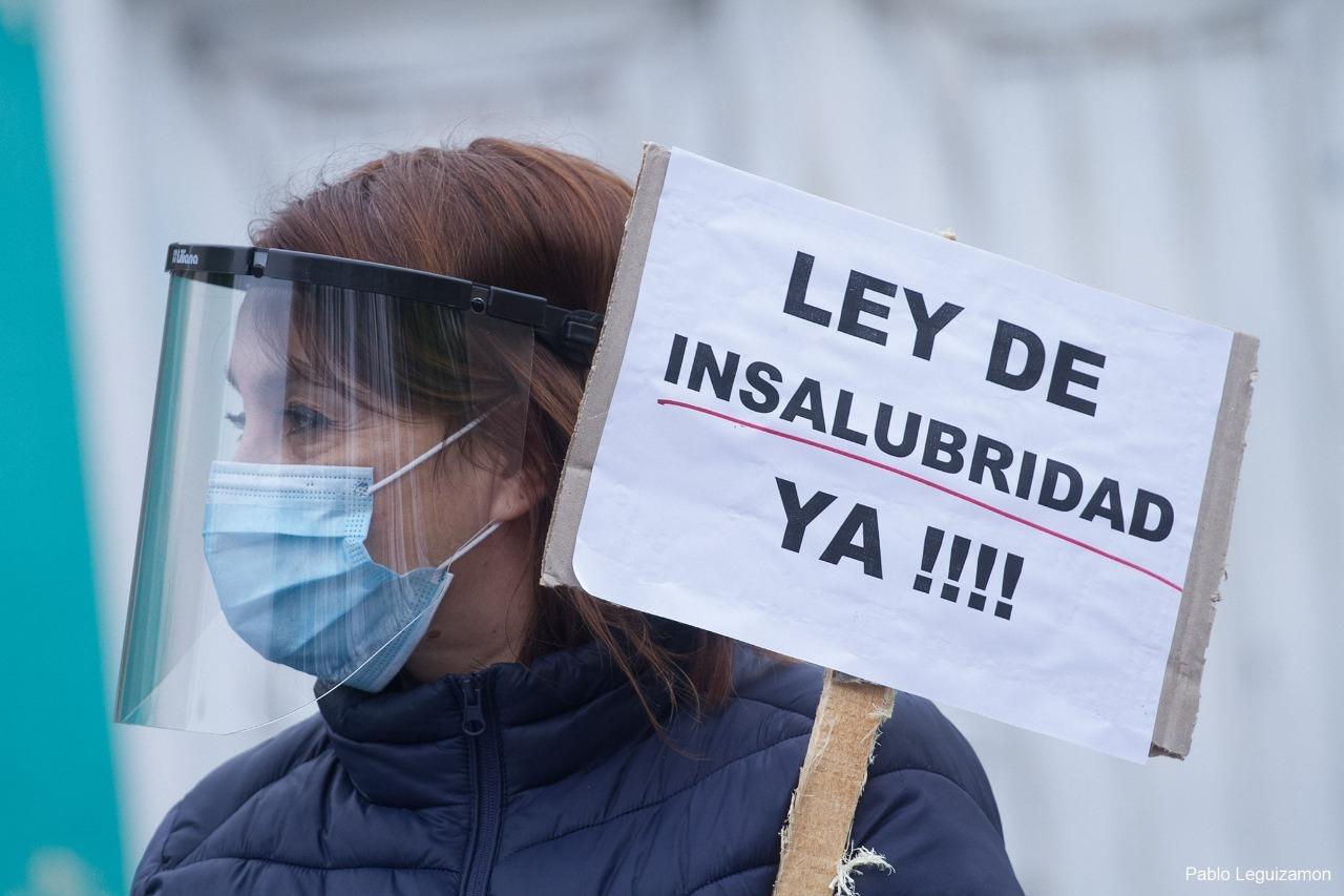Río Negro: Suma respaldos el proyecto para declarar insalubres las tareas hospitalarias