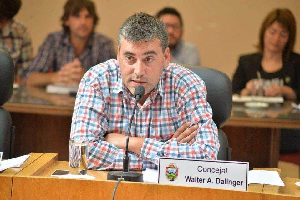 Viedma: Tristeza por el fallecimiento del concejal Walter Dalinger