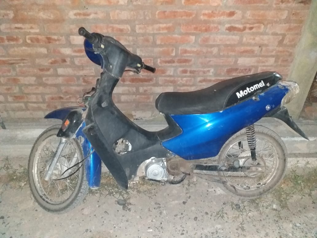 La Policía recuperó una moto robada en Viedma