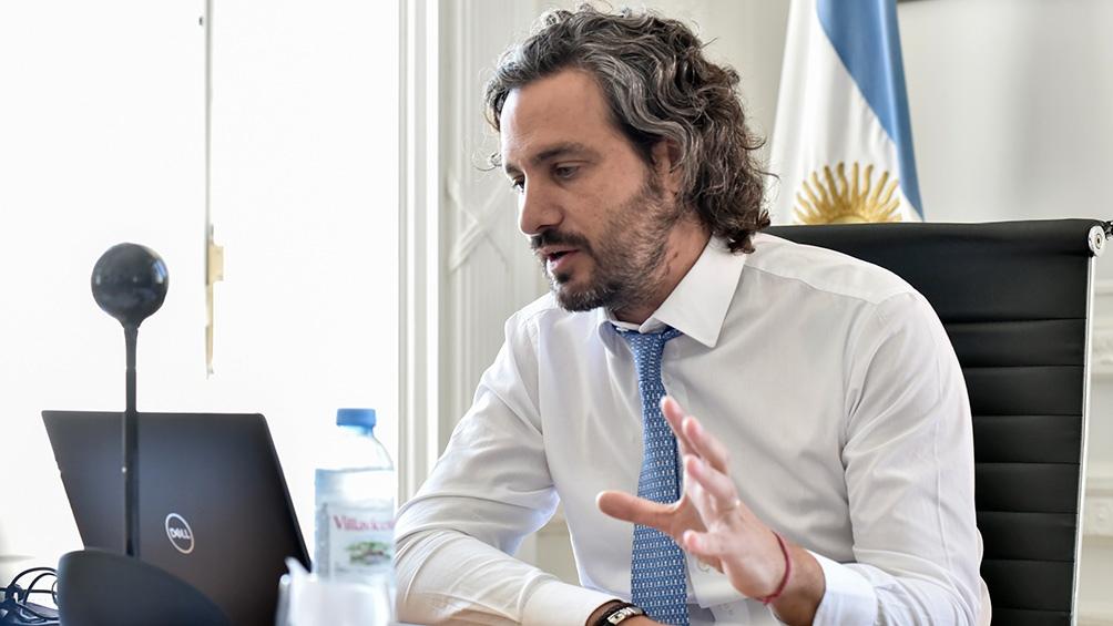 Cafiero recibe a Carreras para analizar la situación sanitaria, temas económicos y los incendios
