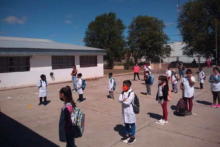 Río Negro: Según Educación más del 80% de las escuelas volvieron a la presencialidad