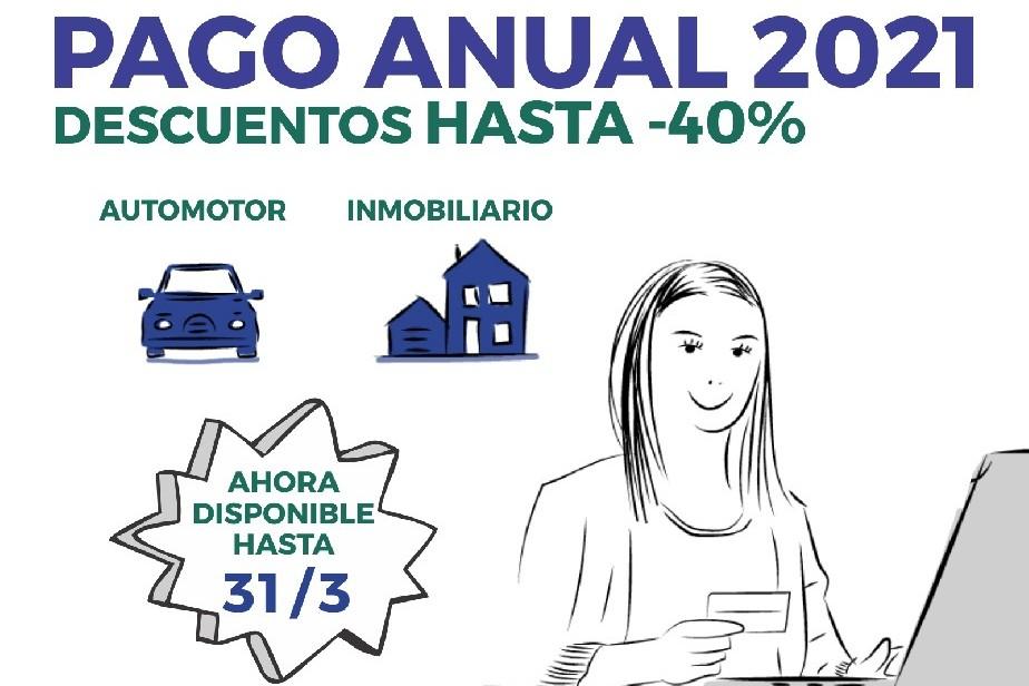 Automotor e Inmobiliario: El miércoles vence el plazo para adherir al Pago Anual 2021