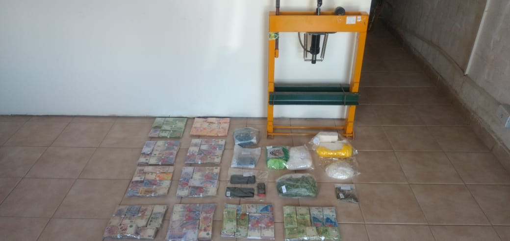 General Roca: Secuestraron más de tres kilos y medio de cocaína de máxima pureza