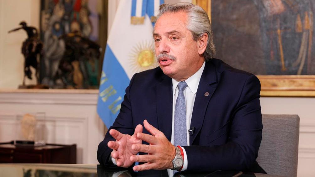 Alberto Fernández anunció que dio positivo de coronavirus