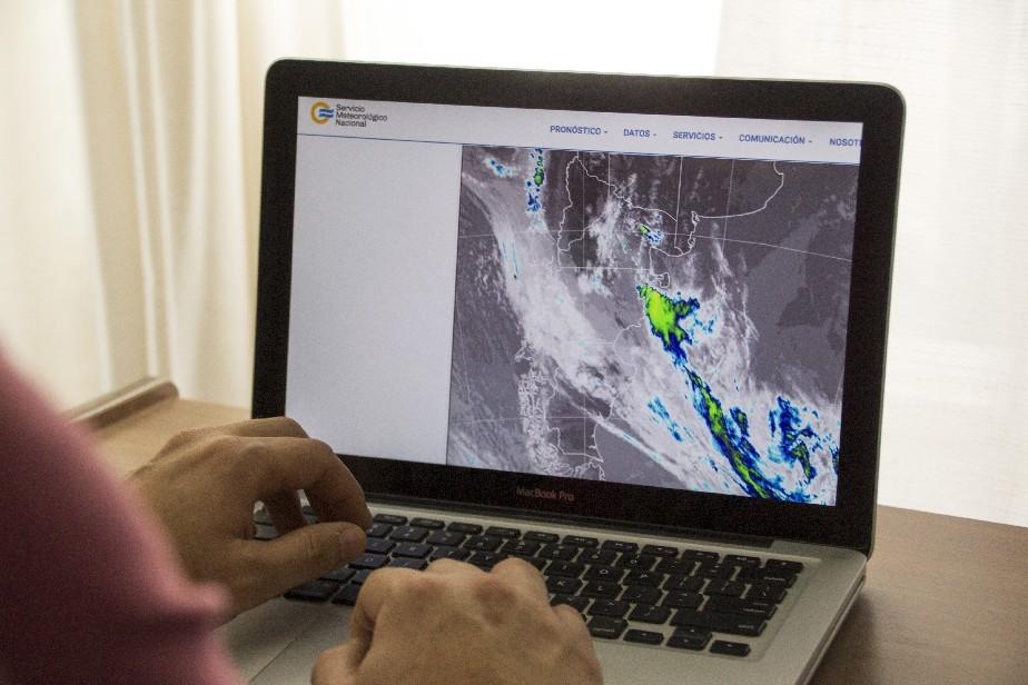Río Negro: Alerta meteorológica por fuertes lluvias