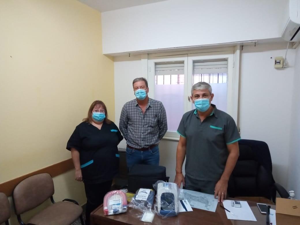 Patagones: Salud sumó nuevo equipamiento para el tratamiento de pacientes con covid