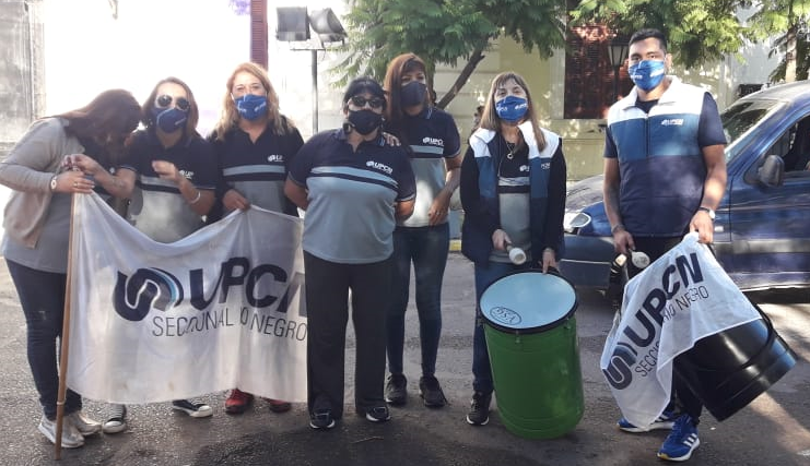 """UPCN mantiene la """"carpa de la dignidad"""" y convoca a nuevas medidas de fuerza"""