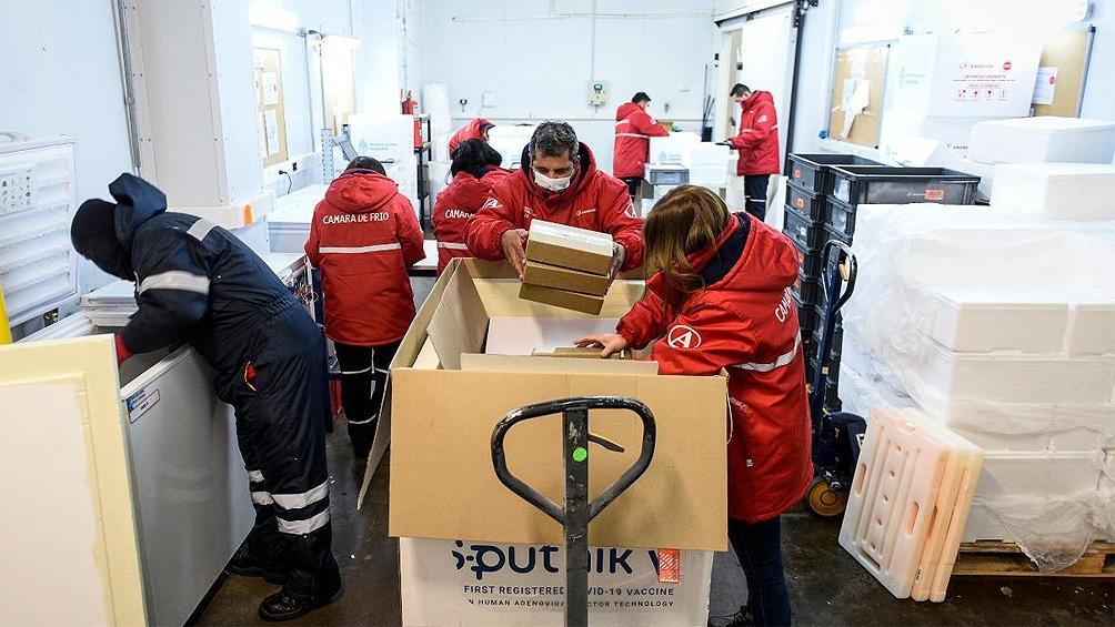 5.400 para Río Negro: Nación comenzó el reparto de otras 306 mil dosis de Sputnik V