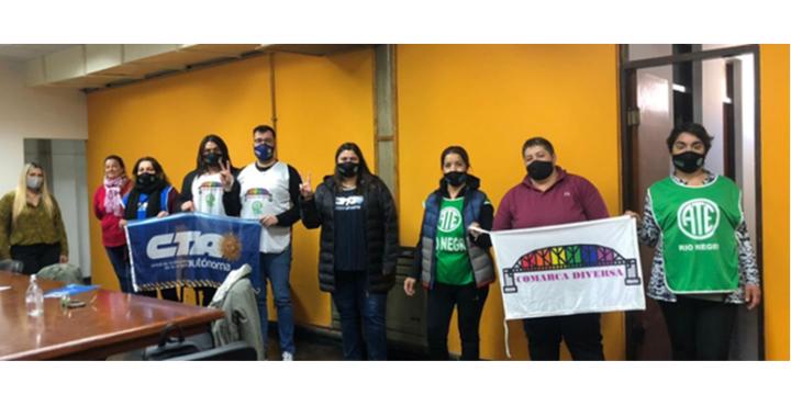 La CTA solicitó el Cupo Laboral Trans en el Municipio de Conesa