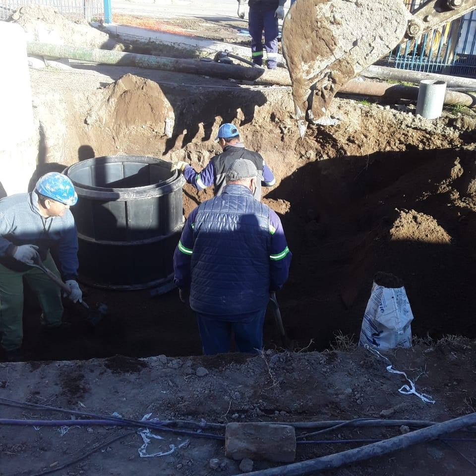 Realizaron mejoras en la Estación Elevadora de Líquidos Cloacales de Río Colorado
