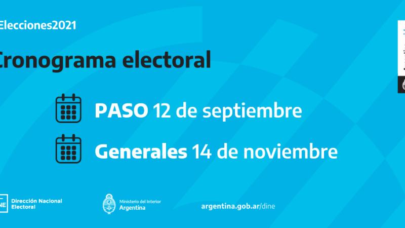 Elecciones PASO: Consultá dónde votás el próximo 12 de septiembre