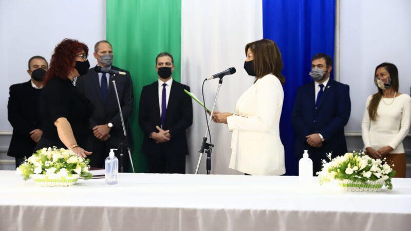 La Gobernadora tomó juramento a los nuevos jueces del Superior Tribunal de Justicia