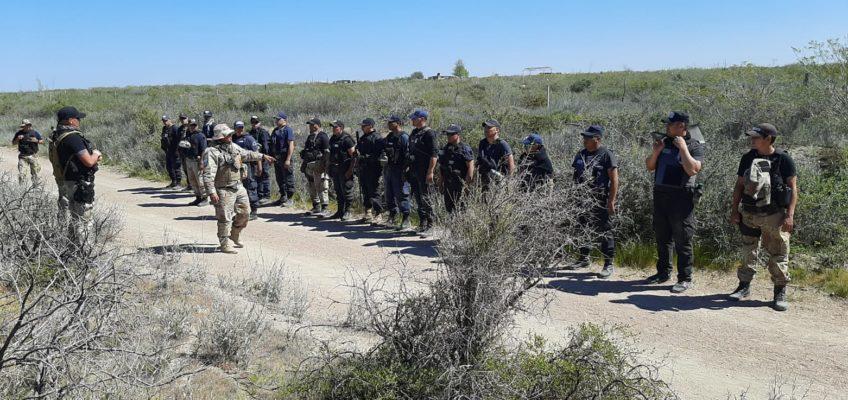 """Más de veinte efectivos policiales comenzaron el """"Segundo Curso de Operador Rural"""""""