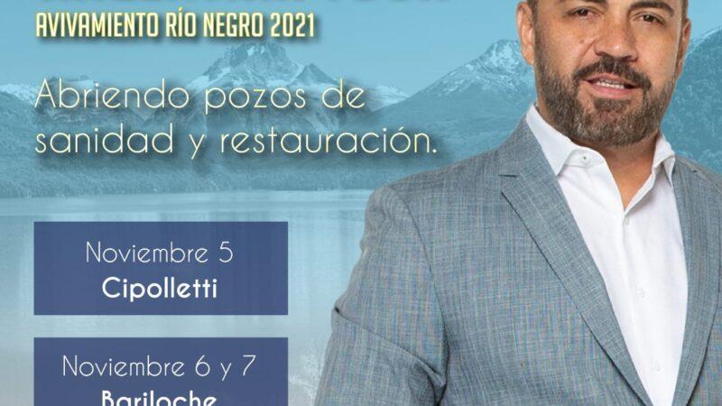 La gobernadora Carreras promociona la visita a Río Negro del pastor Rich Vera